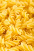 Raw pasta background Stock Photos