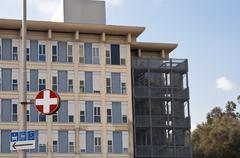 Sairaalan ulko Kuvituskuvat