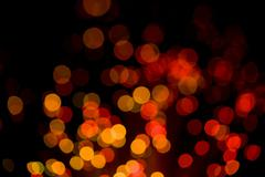 abstract holiday lights background - stock photo