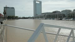 Stock Video Footage of tarde en puerto madero