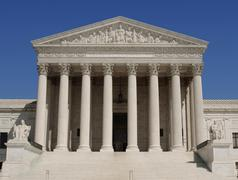 us supreme court - stock photo