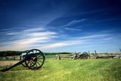 napoleon artillery battery - stock photo