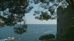 Positano (30),  Amalfi Coast, Italy Stock Footage