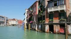 Venezia Canal Grande Stock Footage