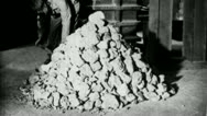 Stock Video Footage of PROCESSING MILLING Ore Factory 1930 (Vintage Film Industrial Home Movie) 3658b