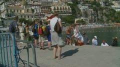 Positano (24),  Amalfi Coast, Italy Stock Footage