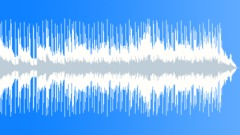 Stock Music of commercial acoustic piano and guitar