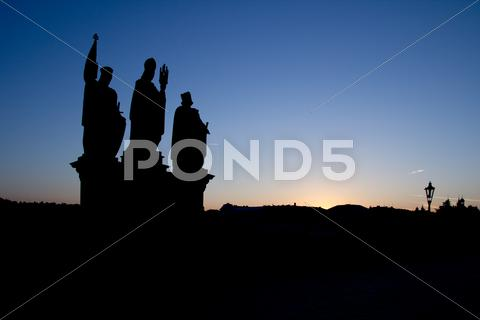 Stock photo of charles bridge
