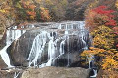 Fukuroda Falls in Japan Stock Photos