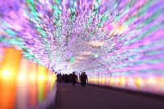 Stock Photo of Christmas illumination