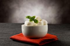 mozzarella appetizer - stock photo