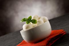 Mozzarella appetizer Stock Photos