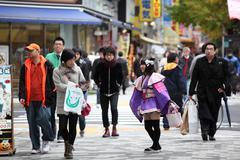 Maid in Akihabara Stock Photos
