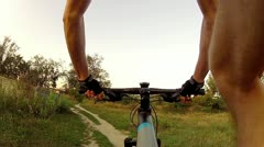 Bicycling Stock Footage