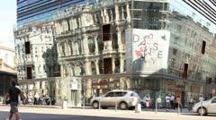 Place des Cordeliers, Lyon, Rhone-Alpes, France Stock Footage