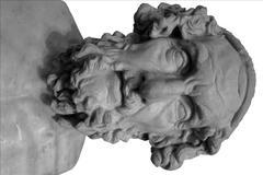Antiikin kreikan rintakuva Kuvituskuvat