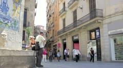 Street life timelapse. Stock Footage