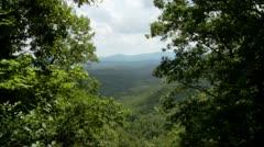 Mountain Overlook - 720 - stock footage