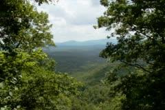 Mountain Overlook - NTSC - stock footage