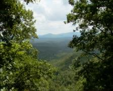 Mountain Overlook - PAL - stock footage