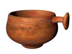 Ancient roman dipper Stock Illustration