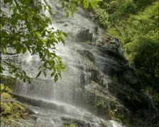 Amicalola Falls 02 - PAL - stock footage