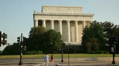 Lincoln Memorial 3 Stock Footage