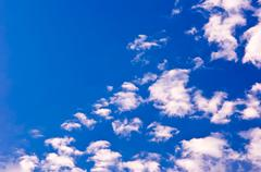 clouds and heavens - stock photo