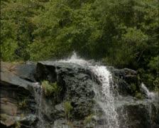 Amicalola Falls 05 - PAL - stock footage
