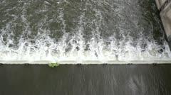 Weir - stock footage