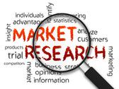 Market research Stock Illustration