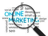 Online marketing Stock Illustration