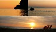 Sunset scenes Stock Footage