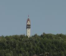 Heublein Tower Stock Footage