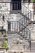 Stock Photo of stairs in the old town