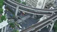 Stock Video Footage of Timelapse Bangkok Traffic