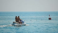 Stock Video Footage of Jet Ski extrime, sea ​​shore, the beach