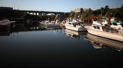 Boat Harbor - stock photo