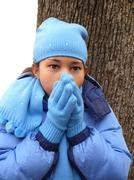 All Bundled Up - stock photo