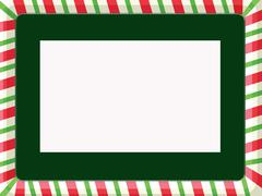 Christmas Frame Stock Illustration