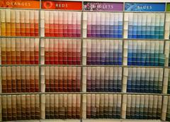 Paint Color Choices. Stock Photos