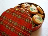 Stock Photo of tin Of Christmas Cookies