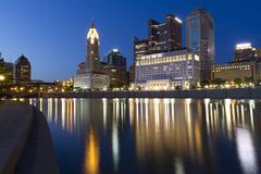 Downtown of Columbus, OHIO Stock Photos
