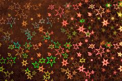 brown holographic paper - stock illustration