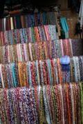 Fabric market Stock Photos