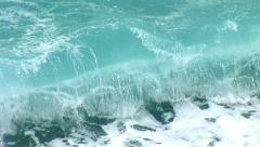 Hard waves 1 Stock Footage