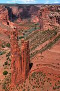 Spider rock canyon de chelly Stock Photos