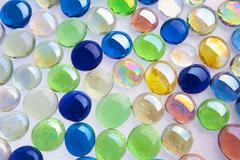 glass spheres - stock photo
