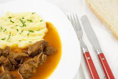 goulash meal - stock photo