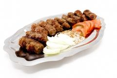 Stock Photo of kebabs